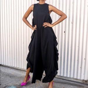 Zara Ruffle Jumpsuit